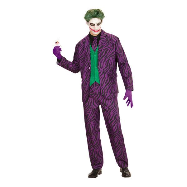 Evil Joker Maskeraddräkt - X-Large