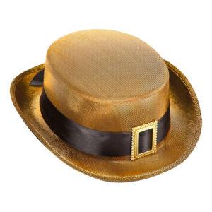Filthatt Guld med Spänne - One size