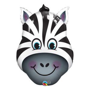 Folieballong Glad Zebra