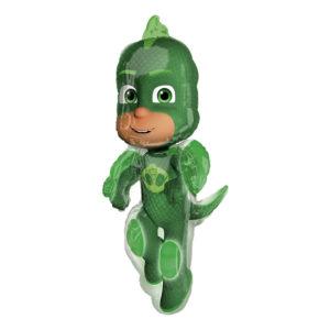 Folieballong Pyjamashjältarna Gecko