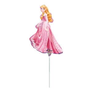 Folieballong Törnrosa Mini