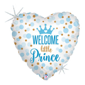 Folieballong Welcome Little Prince