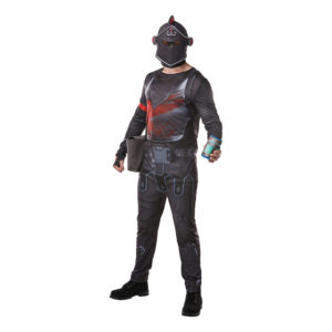 Fortnite Black Knight Maskeraddräkt - Large