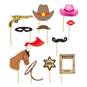 Foto Props Cowboy - 12-pack