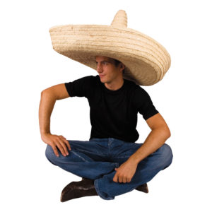 Gigantisk Sombrerohatt - One size