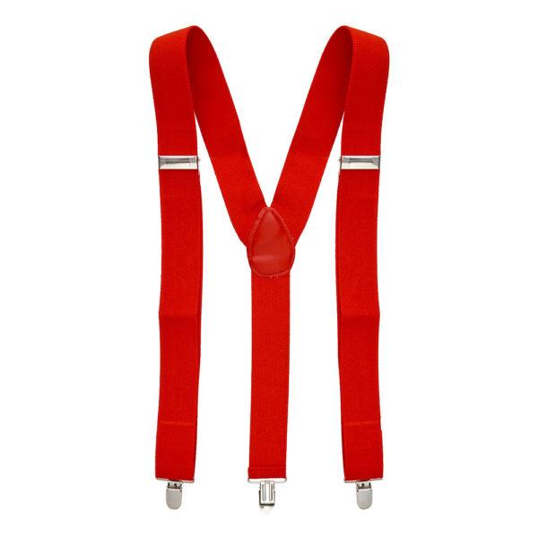 Hängslen Röda - One size