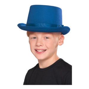 Höghatt Blå för Barn - One size