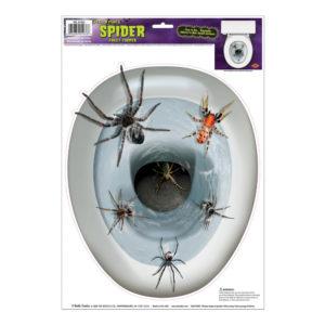 Halloween Toalettdekor Spindlar