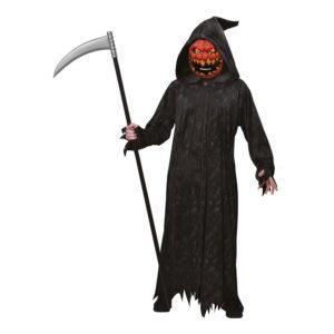 Halloweenpumpa Maskeraddräkt - Medium