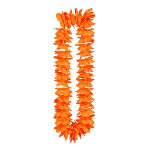 Hawaiikrans Orange i Satin