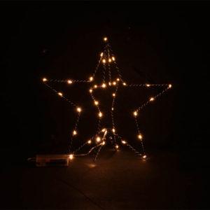 Julstjärna Stående LED - 30 cm