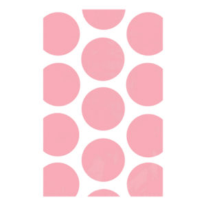 Kalaspåsar Polka Dot Ljusrosa - 10-pack