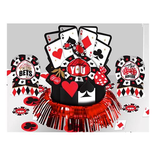 Kasino Bordsdekoration Kit