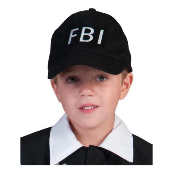 Keps FBI för Barn - One size