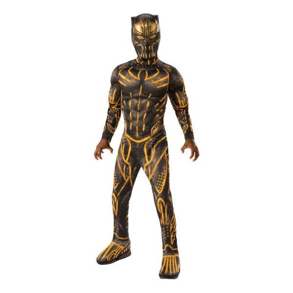 Killmonger Deluxe Barn Maskeraddräkt - Large
