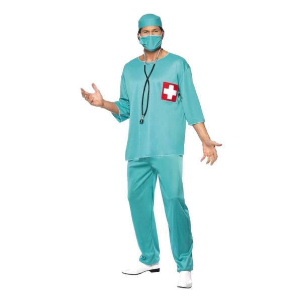 Kirurg Maskeraddräkt - Large