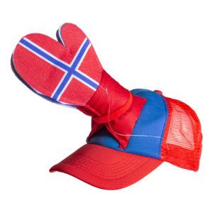 Klappkeps Norge - One size