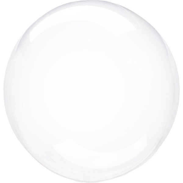 Klotballong transparent-Clear