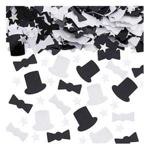 Konfetti Top Hat Metallic - 14 gram