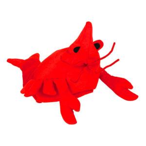 Kräfthatt Röd - One size