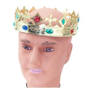 Kungakrona av Plast - One size