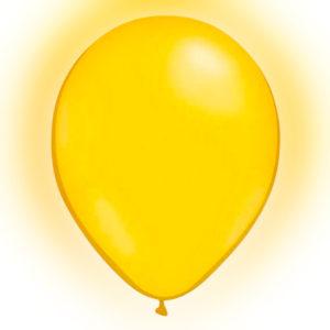 LED-Ballonger Gula - 5-pack