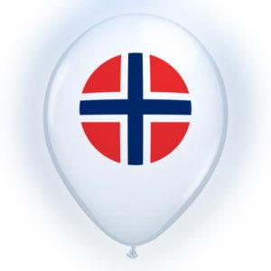 LED-Ballonger Norge - 4-pack