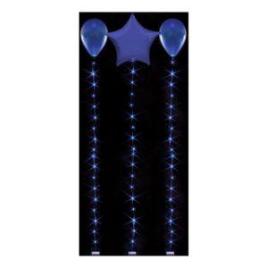 LED-slinga för Ballonger - Blå 1.8 m