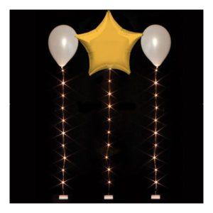 LED-slinga för Ballonger - Varm Vit 1.0 m
