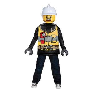 LEGO Brandman Barn Maskeraddräkt - Medium