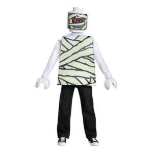 LEGO Mumie Barn Maskeraddräkt - Large