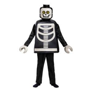 LEGO Skelett Deluxe Barn Maskeraddräkt - Medium