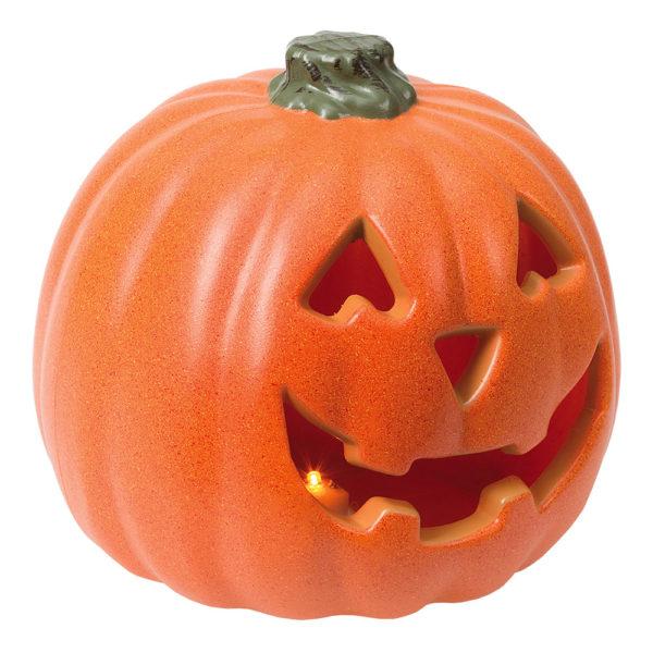 Lykta Halloweenpumpa med LED-Ljus