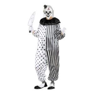 Mördar Pierrot Maskeraddräkt - Large