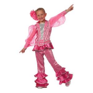 Mamma Mia Rosa Barn Maskeraddräkt - 9-10 år