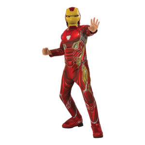 Marvel Endgame Iron Man Deluxe Barn Maskeraddräkt - Large