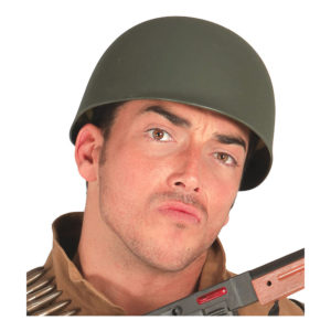 Militärhjälm Grön - One size