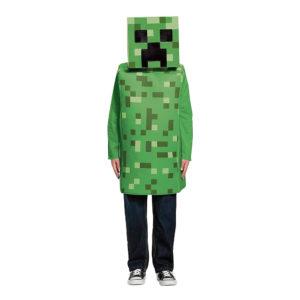 Minecraft Creeper Barn Maskeraddräkt - Medium