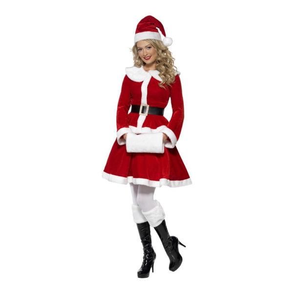 Miss Santa Maskeraddräkt - Large