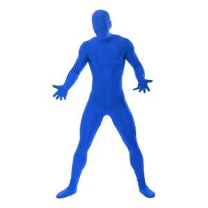 Morphsuit Blå Maskeraddräkt - X-Large