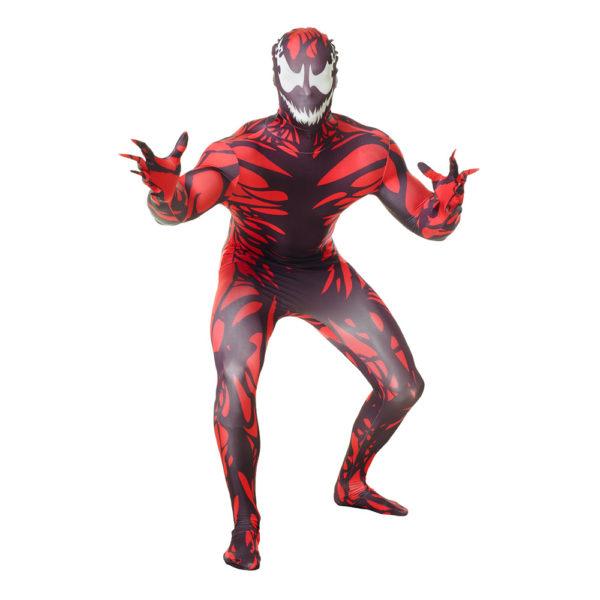Morphsuit Carnage Maskeraddräkt - Large