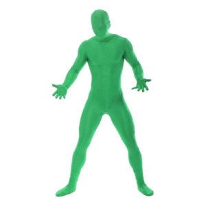 Morphsuit Grön Maskeraddräkt - Medium