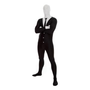 Morphsuit Slenderman Maskeraddräkt - X-Large