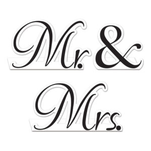 Mr. & Mrs. Bordskort