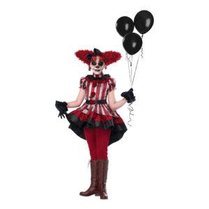 Ond Clown Barn Maskeraddräkt - X-Large
