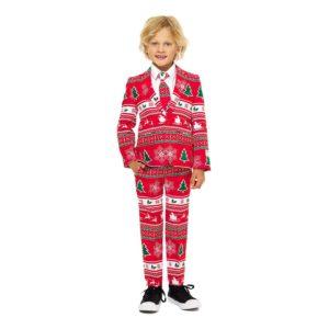 OppoSuits Boys Winter Wonderland Kostym - 122/128