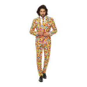 OppoSuits Confetteroni Kostym - 48