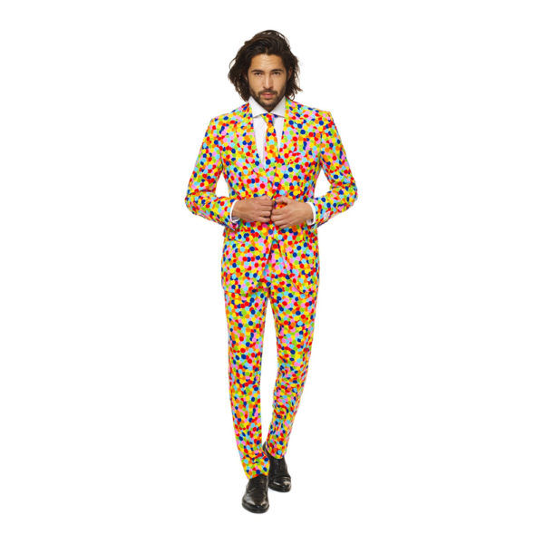 OppoSuits Confetteroni Kostym - 52