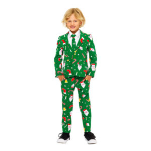 OppoSuits Santaboss Boys Kostym - 98/104