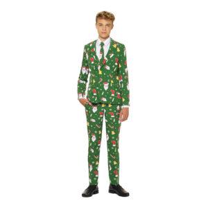 OppoSuits Santaboss Teen Kostym - 146/152